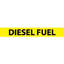 Diesel Fuel Pressure-Sensitive Vinyl Pipe Marker (#1080Y)