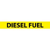 Diesel Fuel Pressure-Sensitive Vinyl Pipe Marker (#1080Y)