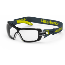 HexArmor® MX200G Foam Gasket Safety Glasses, clear anti-fog (#11-12001-04)