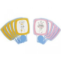 Replacement Infant/Child AED Training Electrodes (#11250-000042)