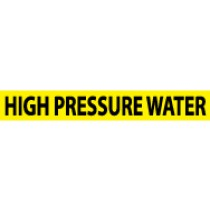 High Pressure Water Pressure-Sensitive Vinyl Pipe Marker (#1133Y)