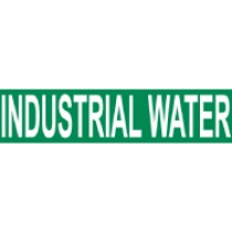 Industrial Water Pressure-Sensitive Vinyl Pipe Marker (#1143G)