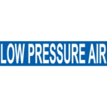 Low Pressure Air Pressure-Sensitive Vinyl Pipe Marker (#1153B)