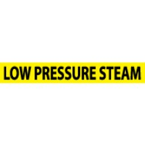 Low Pressure Steam Pressure-Sensitive Vinyl Pipe Marker (#1156Y)