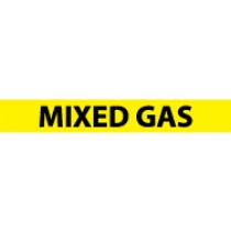 Mixed Gas Pressure-Sensitive Vinyl Pipe Marker (#1168Y)