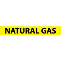 Natural Gas Pressure-Sensitive Vinyl Pipe Marker (#1172Y)