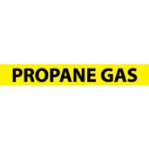 Propane Gas Pressure-Sensitive Vinyl Pipe Marker (#1199Y)