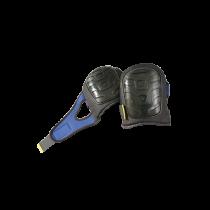 Premium Flat Cap Gel Pads - Black Hard PE Cap (#121OCC)
