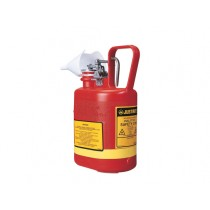 Justrite Type I Poly Safety Can, 1.0 gallon (#14160)