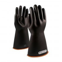 "NOVAX® Class 1 Rubber Insulating Glove with Straight Cuff - 16""  (#155-1-16)"