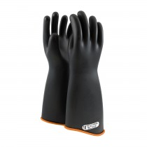 "NOVAX® Class 1 Rubber Insulating Glove with Contour Cuff - 18""  (#158-1-18)"