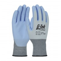 G-Tek® PolyKor® X7™ Seamless Knit PolyKor™ X7™ Blended Glove with NeoFoam® Coated Palm & Fingers - Touchscreen Compatible  (#16-320)