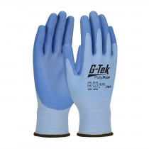 G-Tek® PolyKor® Premium Seamless Knit PolyKor® Blended Glove with Polyurethane Coated Smooth Grip on Palm & Fingers  (#16-322)
