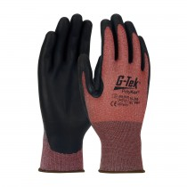 G-Tek® PolyKor® X7™ Seamless Knit PolyKor® X7™ Blended Glove with NeoFoam® Coated Palm & Fingers - Touchscreen Compatible  (#16-368)