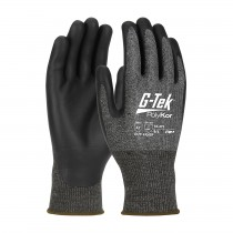 G-Tek® PolyKor® X7™ Seamless Knit PolyKor® X7™ Blended Glove with NeoFoam® Coated Palm & Fingers - Touchscreen Compatible  (#16-377)
