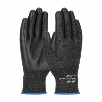G-Tek® PolyKor® Seamless Knit PolyKor® Blended Glove with PVC Coated Smooth Grip on Palm & Fingers  (#16-747)