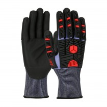 G-Tek® PolyKor® X7™ Seamless Knit PolyKor® X7™ Blended Glove with Impact Protection and NeoFoam® Coated Palm & Fingers  (#16-MP585)
