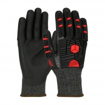 G-Tek® PolyKor® X7™ Seamless Knit PolyKor® X7™ Blended Glove with Impact Protection and NeoFoam® Coated Palm & Fingers  (#16-MP785)