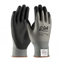 G-Tek® PolyKor® Xrystal® Seamless Knit PolyKor® Xrystal® Blended Glove with Nitrile Coated Foam Grip on Palm & Fingers  (#16-X320)