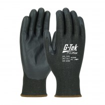 G-Tek® PolyKor® Xrystal® Seamless Knit PolyKor® Xrystal® Blended Glove with NeoFoam® Coated Palm & Fingers - Touchscreen Compatible  (#16-X585)