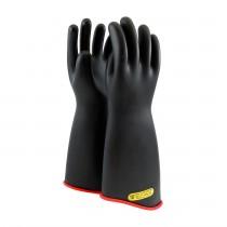"NOVAX® Class 2 Rubber Insulating Glove with Contour Cuff - 18""  (#162-2-18)"