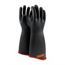 "NOVAX® Class 4 Rubber Insulating Glove with Contour Cuff - 18""  (#162-4-18)"