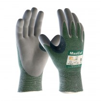 MaxiCut® Seamless Knit Engineered Yarn Glove with Nitrile Coated MicroFoam Grip on Palm & Fingers (#18-570)
