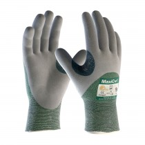MaxiCut® Seamless Knit Engineered Yarn Glove with Nitrile Coated MicroFoam Grip on Palm, Fingers & Knuckles (#18-575)