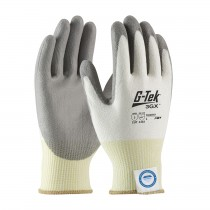 G-Tek® 3GX® Seamless Knit Dyneema® Diamond Blended Glove with Polyurethane Coated Smooth Grip on Palm & Fingers  (#19-D310)