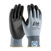 G-Tek® 3GX® Seamless Knit Dyneema® Diamond Blended Glove with Polyurethane Coated Smooth Grip on Palm & Fingers  (#19-D318)