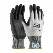G-Tek® 3GX® Seamless Knit Dyneema® Diamond Blended Glove with Polyurethane Coated Smooth Grip on Palm & Fingers  (#19-D324)