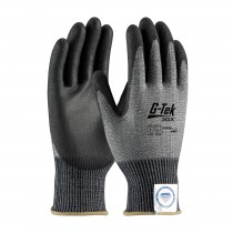 G-Tek® 3GX® Seamless Knit Dyneema® Diamond Blended Glove with Polyurethane Coated Smooth Grip on Palm & Fingers  (#19-D326)