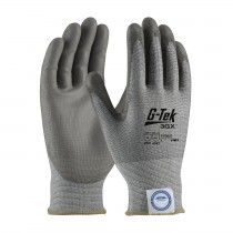 G-Tek® 3GX® Seamless Knit Dyneema® Diamond Blended Glove with Polyurethane Coated Smooth Grip on Palm & Fingers  (#19-D327)