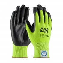 G-Tek® 3GX® Seamless Knit Dyneema® Diamond Blended Glove with Nitrile Coated Foam Grip on Palm & Fingers  (#19-D340LG)