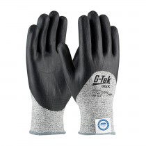 G-Tek® 3GX® Seamless Knit Dyneema® Diamond Blended Glove with Nitrile Coated Foam Grip on Palm, Fingers & Knuckles  (#19-D355)