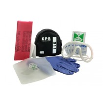 CPR One Kit, black pouch (#203-007)