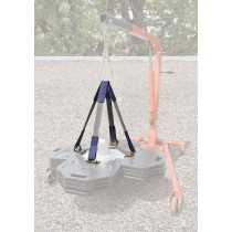 DBI-SALA® Web Sling Lifting Kit for Roof Top Counterweight Anchor (#2104190)