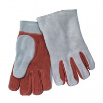 Leather Heat Resistant Gloves, 4-ply