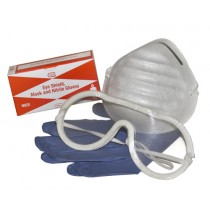 Eye Shield, Mask, & Gloves (#216-078)