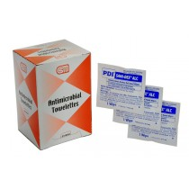 Antimicrobial Towelettes, 25/bx (#221-020)