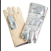 19oz. Aluminized Para Aramid Blend on Back, 22oz. Para Aramid on Front Gloves