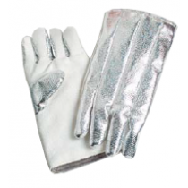 25oz. Aluminized Zetex  on Back, 35oz. Zetex on Front Gloves
