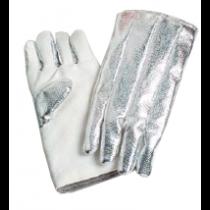25oz. Aluminized Zetex  on Back, 35oz. Zetex on Front Gloves