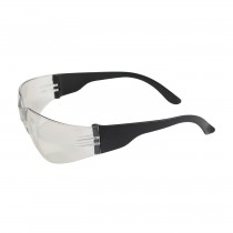 Zenon Z12™ Rimless Safety Glasses with Black Temple, I/O Lens and Anti-Scratch Coating  (#250-01-0002)