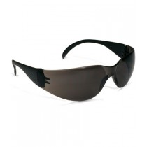 Zenon Z12™ Rimless Safety Glasses with Black Temple, Gray Lens and Anti-Scratch / Anti-Fog Coating  (#250-01-0021)
