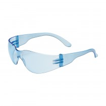 Zenon Z12™ Rimless Safety Glasses with Light Blue Temple, Light Blue Lens and Anti-Scratch Coating  250-01-5503