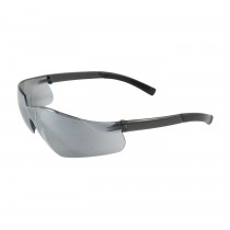 Zenon Z13™ Rimless Safety Glasses with Black Temple, Silver Mirror Lens and Anti-Scratch Coating  (#250-06-0005)