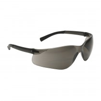Zenon Z13™ Rimless Safety Glasses with Dark Gray Temple, Gray Lens and Anti-Scratch Coating  (#250-06-5501)