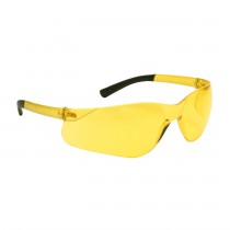 Zenon Z13™ Rimless Safety Glasses with Amber Temple, Amber Lens and Anti-Scratch Coating  (#250-06-5509)