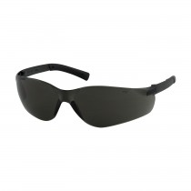 Zenon Z13™ Rimless Safety Glasses with Dark Gray Temple, Gray Lens and Anti-Scratch / Anti-Fog Coating  (#250-06-5521)